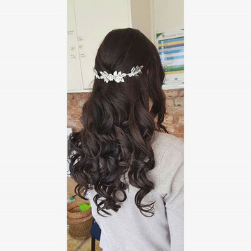 Wedding Hair style created by Courtney.j