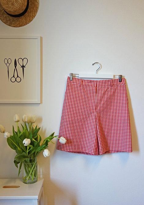 Pantaloncini in cotone vichy