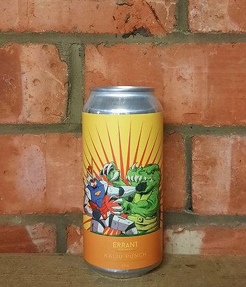 Kaiju Punch – Errant – 5.7% IPA w/Mosaic & Citra