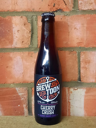 Cherry Crush – Brew Toon – 5.7% Black Cherry Sour