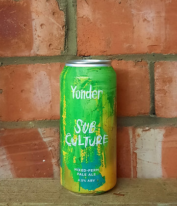 Sub Culture – Yonder – 4.5% Mixed-Ferm Pale
