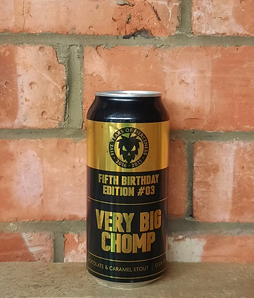 Very Big Chomp – Fierce – 12% Choc & Caramel Stout