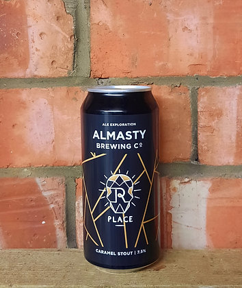 Place – Almasty – 7.5% Caramel Stout