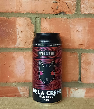 De La Creme – Mad Squirrel – 4.5% Milk Stout