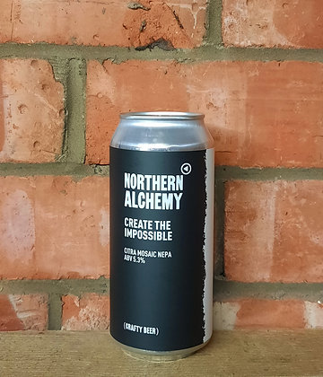 Create The Impossible – Northern Alchemy – 5.3% New England Pale