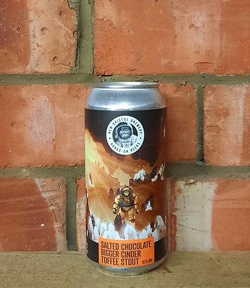 Salted Chocolate Bigger Cinder Toffee – New Bristol – 10% Cider Toffee Stout
