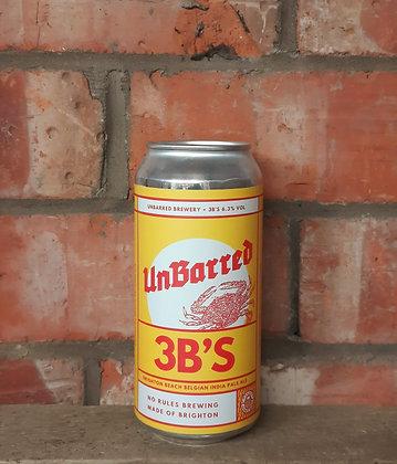 3B's – Unbarred – 6.3% Belgian IPA