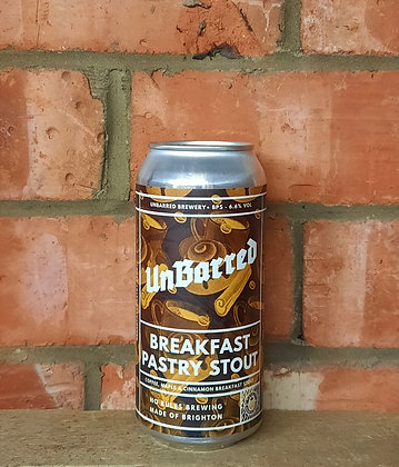 Breakfast Pastry Stout – Unbarred – 6.6% Pastry Stout
