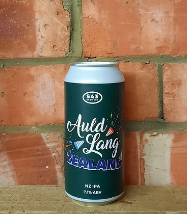 Auld Lang Zealand – s43 – 7.1% NZ IPA