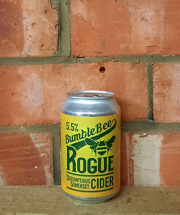 Rogue – Bumble Bee Cider – 5.5% Medium / Dry Apple Cider