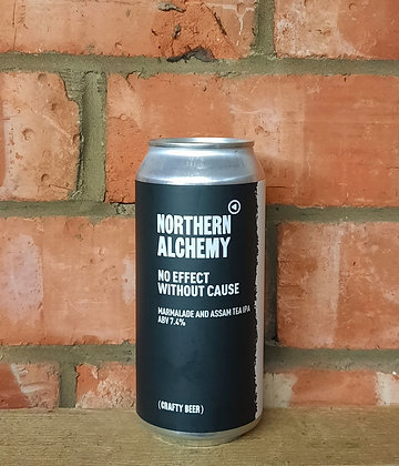 No Effect Without Cause – Northern Alchemy – 7.4% A Marmalade and Tea IPA