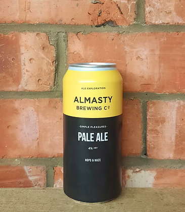 Simple Pleasures – Almasty – 4% Session Pale