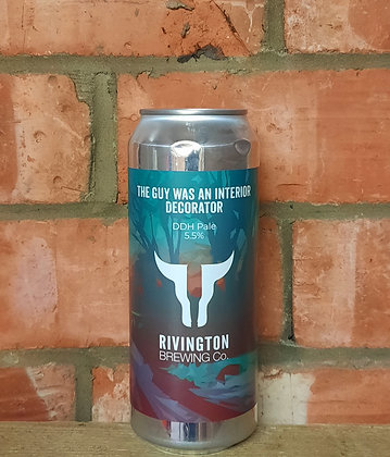 The Guy Was An Interior Decorator – Rivington – 5.5% DDH Pale