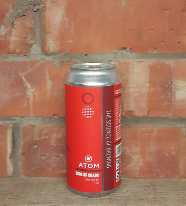 Edge of Chaos – Atom – 4% Citra Pale