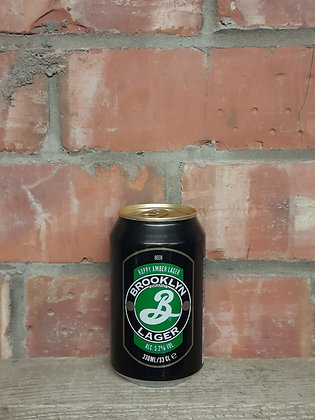 Hoppy Amber Lager - Brooklyn Brewery - 5.2% Amber Lager