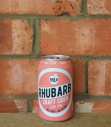 Rhubarb – Pulp – 4% Craft Cider