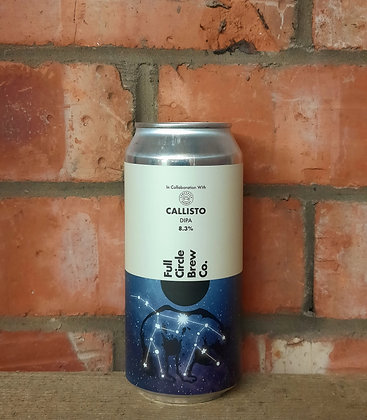 Callisto – Full Circle X Campervan Brewery – 8.3% DIPA