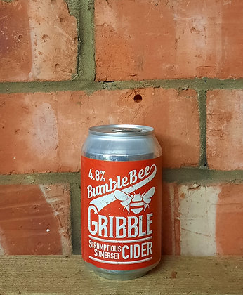 Gribble – Bumble Bee Cider – 4.8% Medium Apple Cider