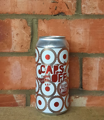 Cherry Bakewell Sour – Caps Off X Hops & Dots – 4.6% Fruited Sour