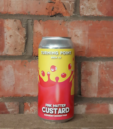 Pink Matter Custard – Turning Point – 6% Raspberry & Vanilla Wheat Pale