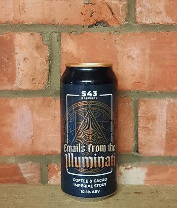 E-Mails from the Illuminati – S43 – 10.5% Coffee & Cacao Stout