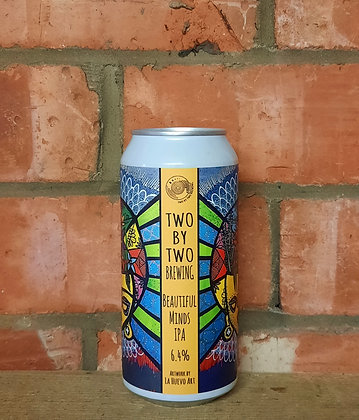 Beautiful Minds – Two By Two – 6.4% Sabro IPA