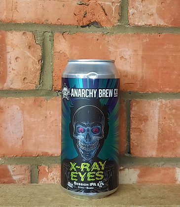X-Ray Eyes – Anarchy – 5.1% Session IPA