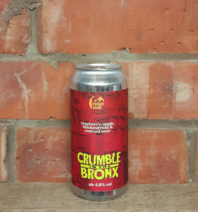 Crumble In The Bronx – Ridgeside – 4.8% Crumble Sour
