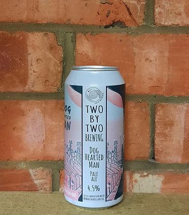 Dog Hearted Man – Two by Two – 4.5% Talus & Idaho 7 Pale