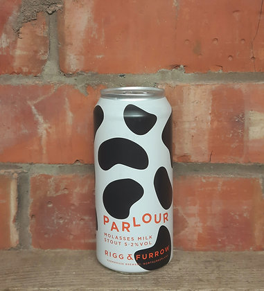 Parlour – Rigg & Furrow – 5.2% Molasses Milk Stout