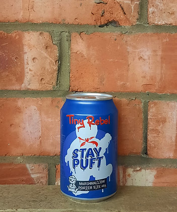 Stay Puft – Tiny Rebel – 5.2% Marshmallow Stout