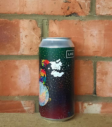 Cosmic Starry Dimension – Left Handed Giant – 7% Stout w/ Chocolate,Pecan,Tonka