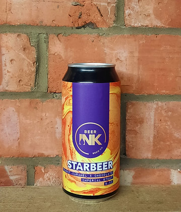 Star Beer – Beer Ink – 8.5% Peanut Caramel Choc Impy Stout