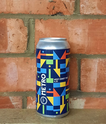 Metro – Great North Eastern Brew Co. – 4.2% West Coast Pale
