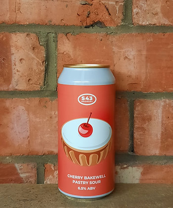Cherry Bakewell – S43 – 6.5% Pastry Sour