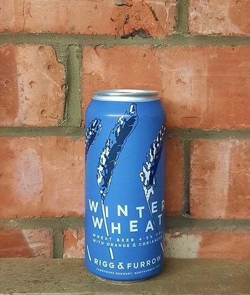 Winter Wheat – Rigg & Furrow – 4.5% Wheat Beer with Orange & Coriander