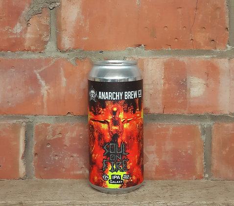 Soul On Fire – Anarchy – 6.5% Single Hop Galaxy IPA