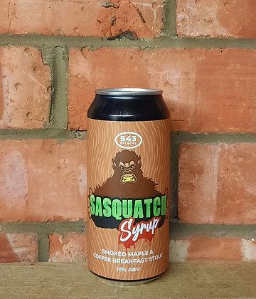 Sasquatch Syrup – S43 – 10% Smoked Maple & Coffee Breakfast Stout