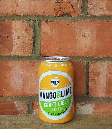Mango & Lime – Pulp – 4% Craft Cider