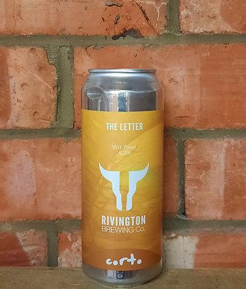 The Letter – Rivington – 4.2% Wit Beer