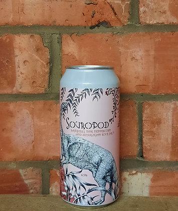 Souropod – Staggeringly Good – 4.5% Rasp, Pink Peppercorn & Himalayan Salt Gose