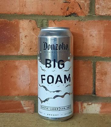 Big Foam – Donzoko – 5% Rustic Lager