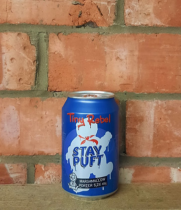 Stay Puft – Tiny Rebel – 5.2% Marshmallow Porter