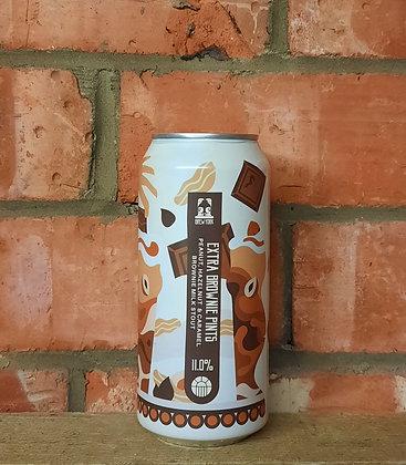 Extra Brownie Pints – Brew York – 11% Peanut, Hazelnut & Caramel Brownie Imperia