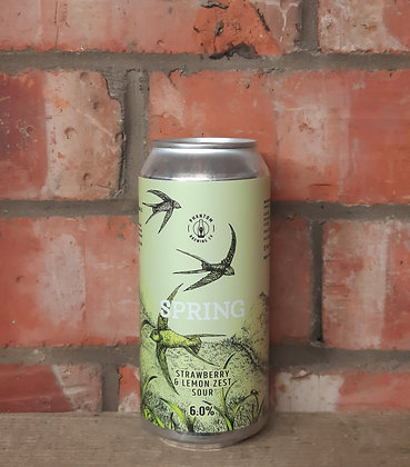 Spring – Phantom – 6% Strawberry & Lemon Zest Sour