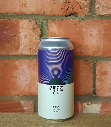 Beta – Full Circle – 5.4% DDH Pale