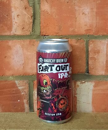 Flat Out – Anarchy – 4.5% Session IPA