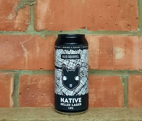 Native – Mad Squirrel – 5% Helles Lager