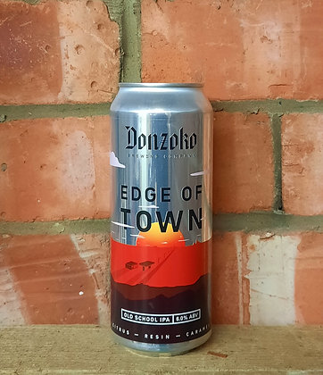 Edge of Town – Donzoko – 6% Old School IPA