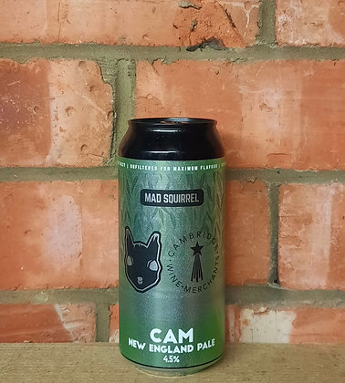 Cam – Mad Squirrel – 4.5% New England Pale